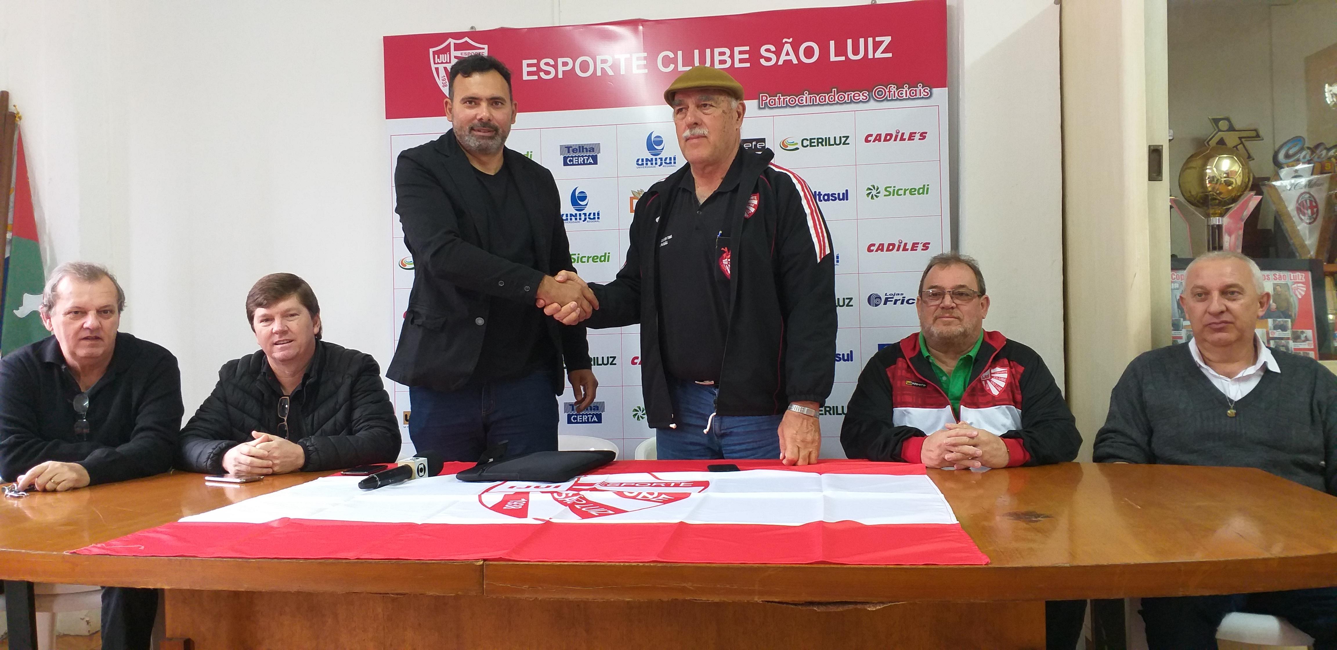 São Luiz apresenta departamento de futebol e técnico para 2020
