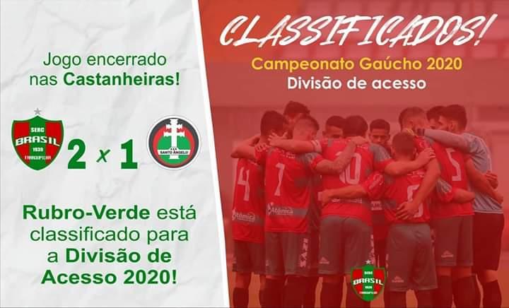 Brasil-FA e Guarany de Bagé regressam a divisão de acesso