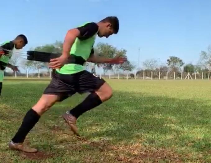 Sub-17 do São Luiz começa penúltima semana da inter-temporada