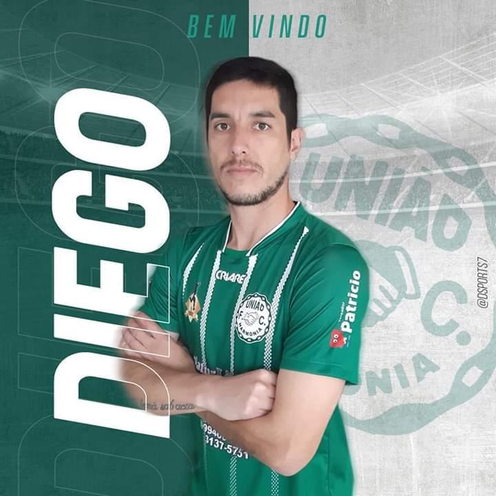 União Harmonia confirma volante Diego Borges