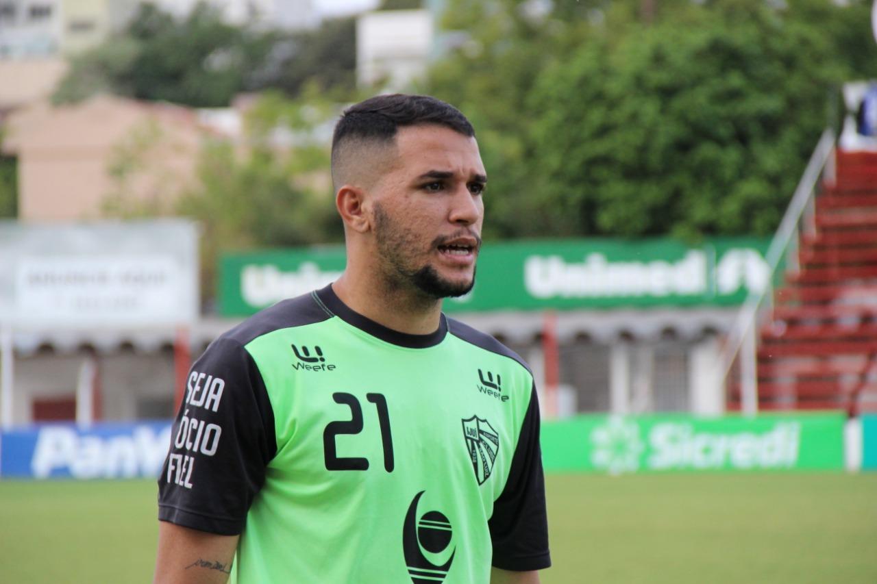 São Luiz quer retorno do zagueiro João Marcos