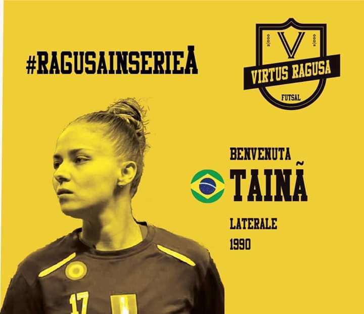 Tainã Santos está de volta ao futsal italiano