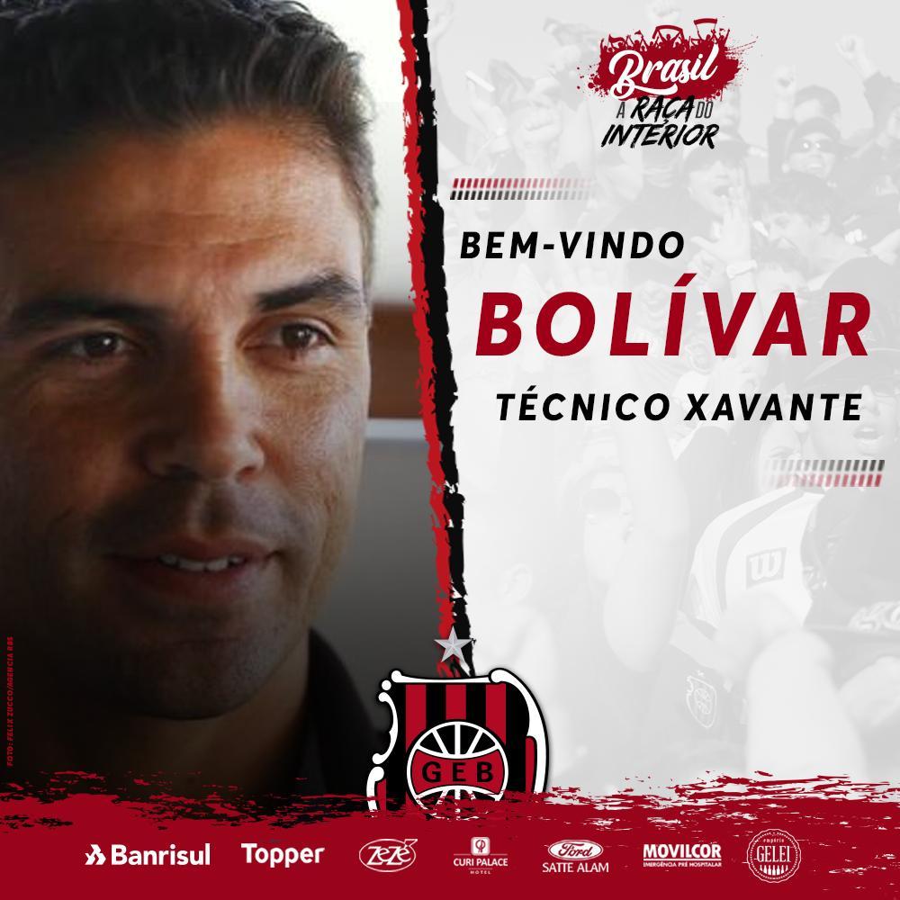 Brasil de Pelotas anuncia novo técnico