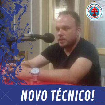São Borja anuncia técnico para Copa Carlos Verardi