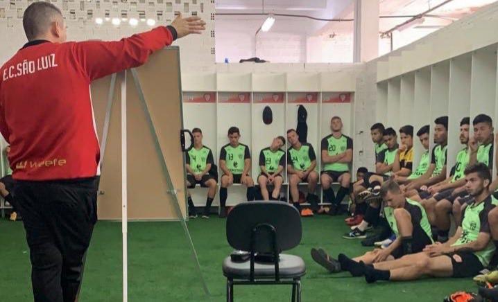 Sub-17 do São Luiz definido para a decisão contra o Ypiranga