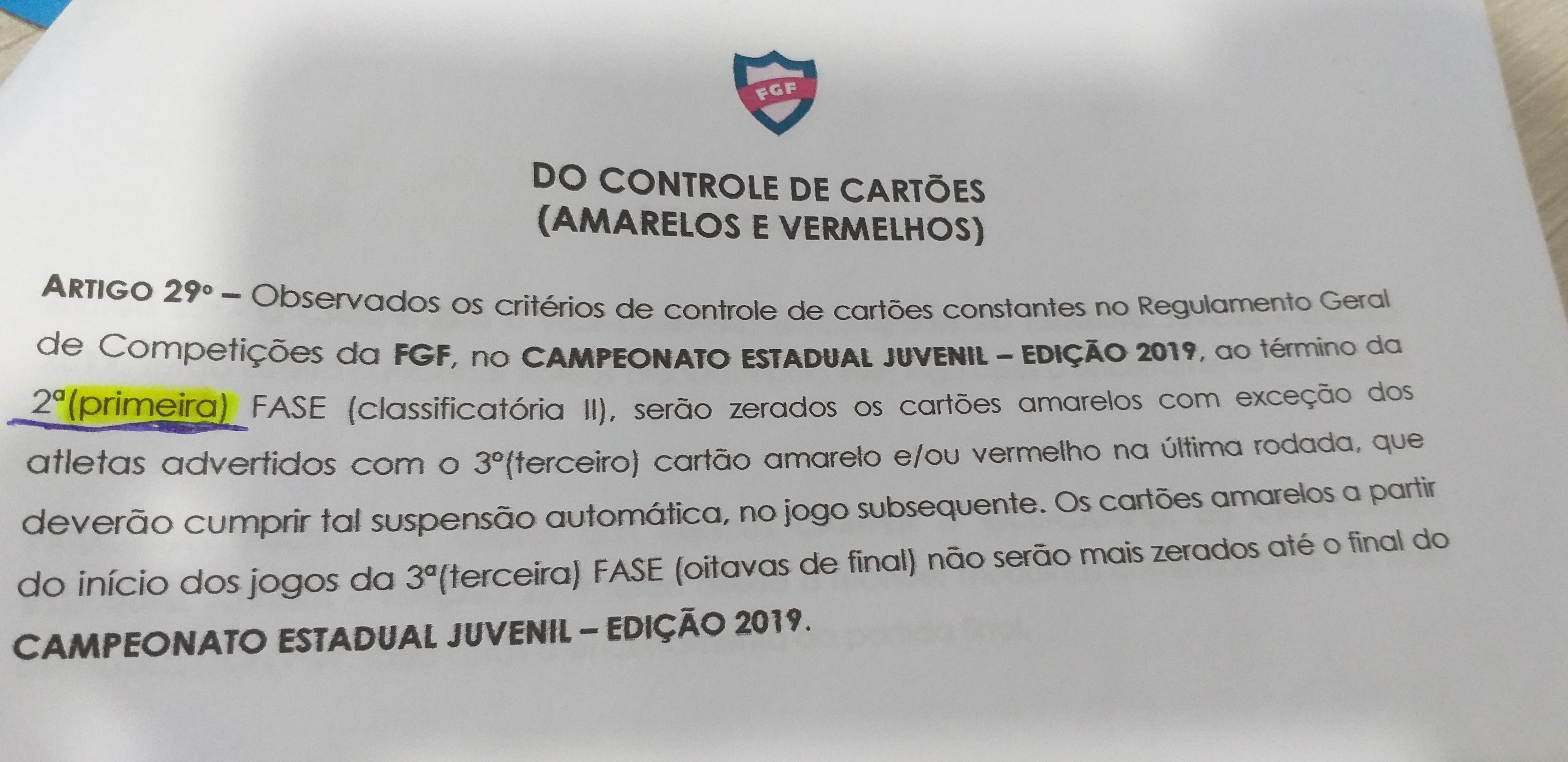 OPINIÃO: Sobre a lambança da FGF no gauchão sub-17