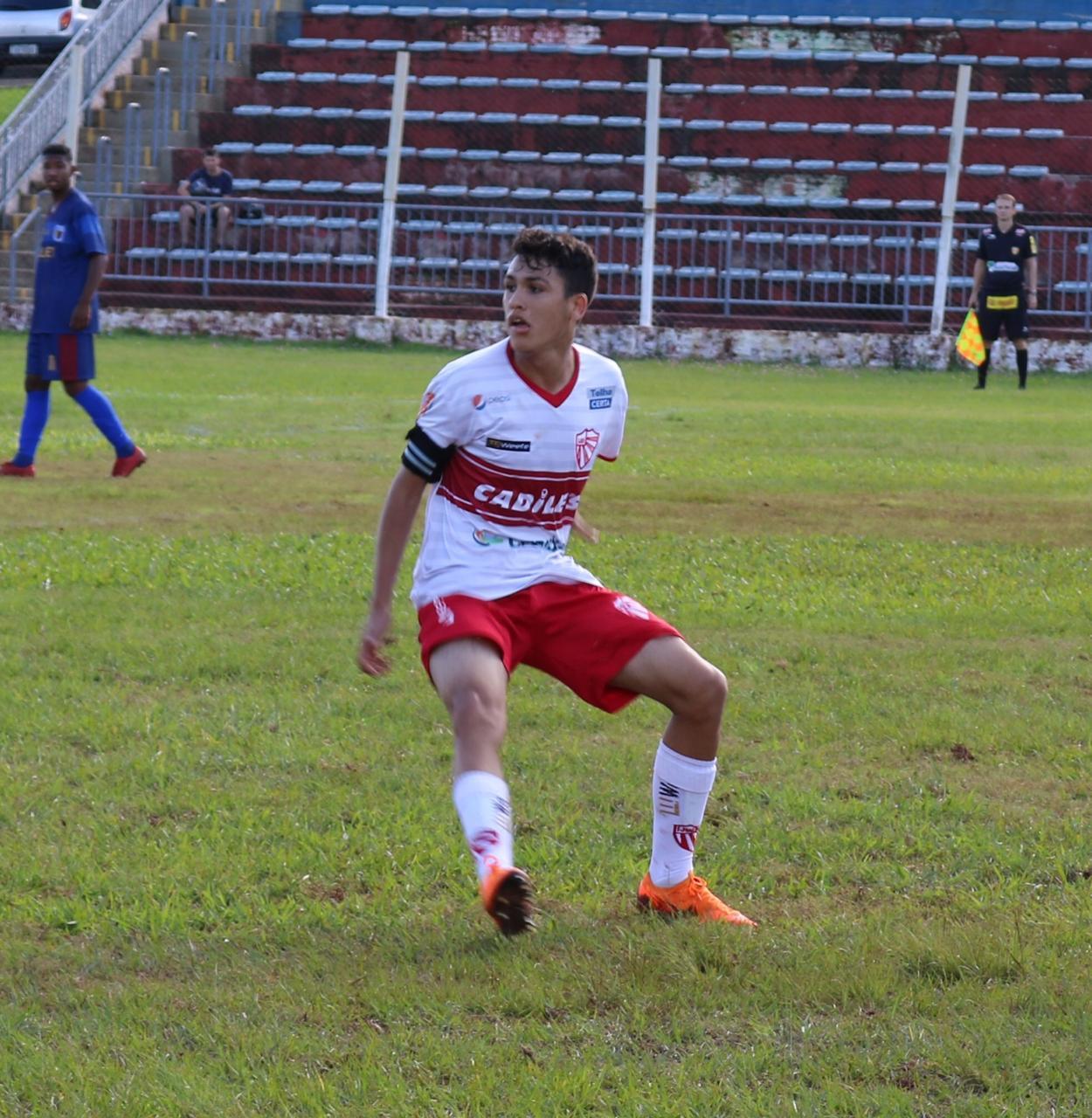 Capitão do sub-17 do São Luiz projeta decisão contra Ypiranga