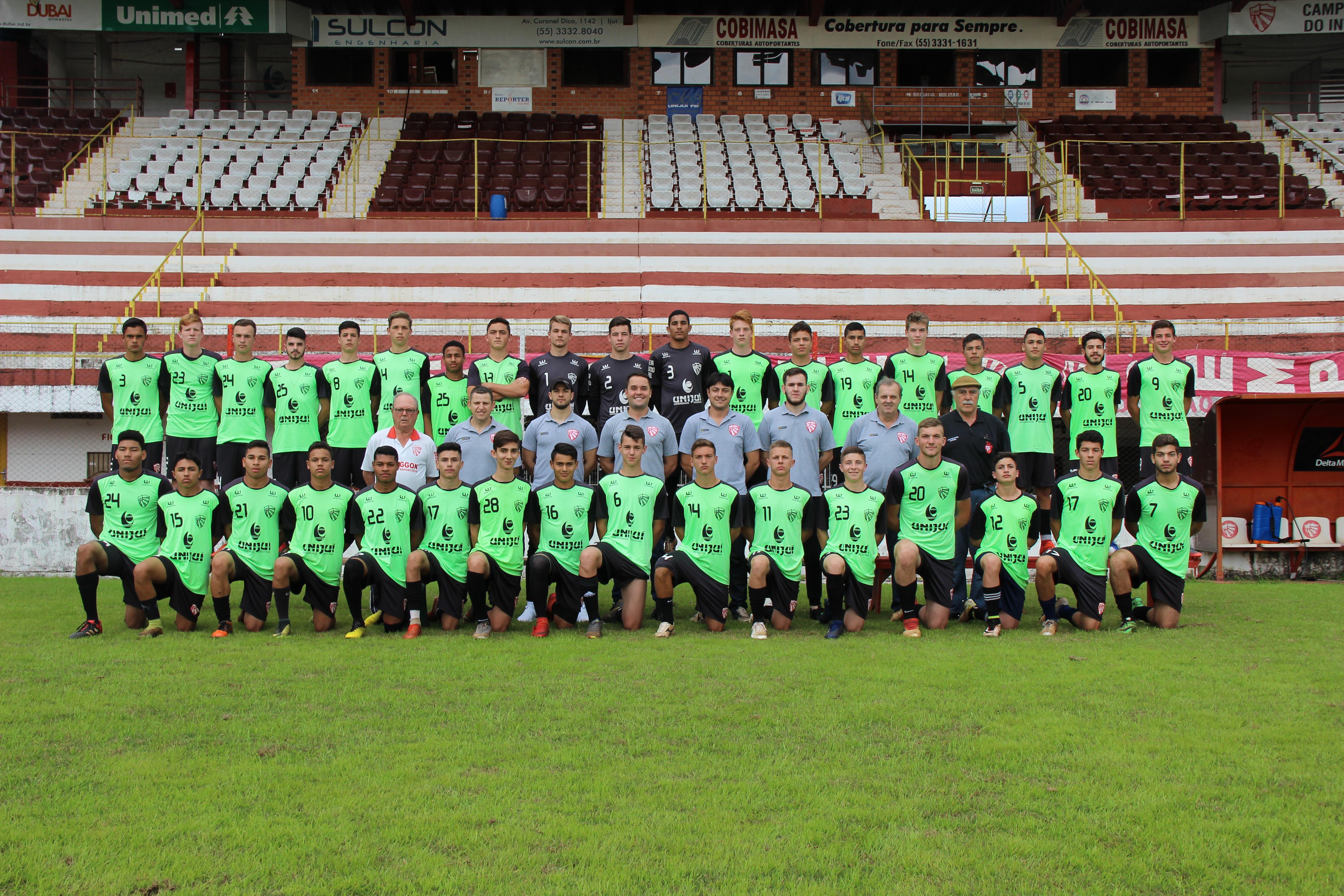 Sub-17 do São Luiz encerra preparação para decisão contra o Ypiranga