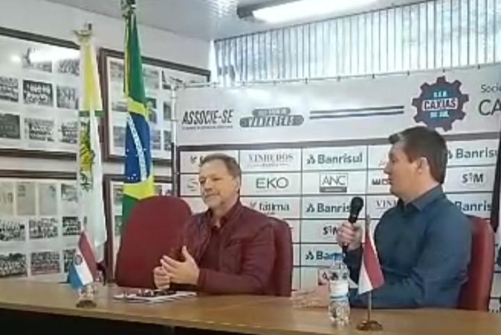 Caxias tem novo gerente de futebol