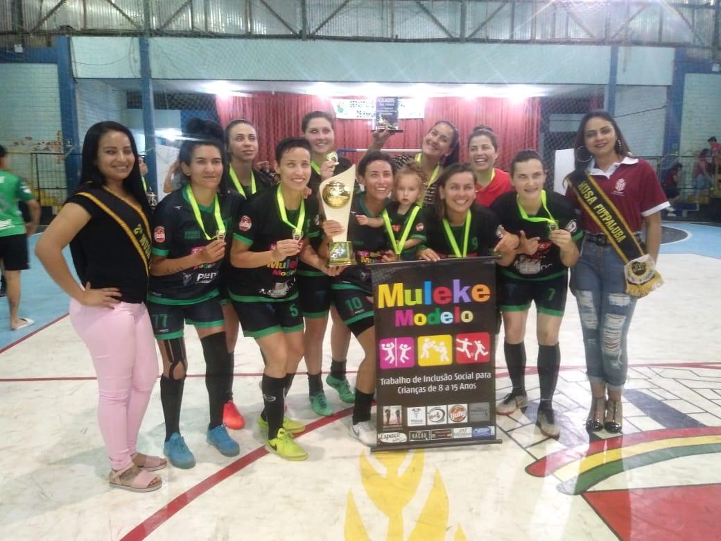 Projeto Muleke Modelo sagra-se campeão de torneio em Tupanciretã