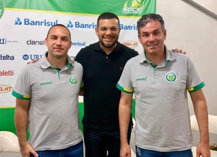 Ypiranga apresenta técnico Paulo Henrique Marques para 2020