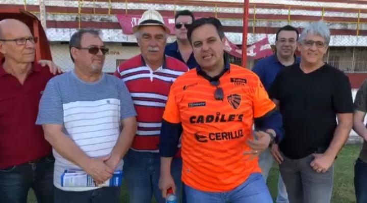 Estádio 19 de Outubro será palco de amistoso entre Amigos do Zico x Seleção da Região