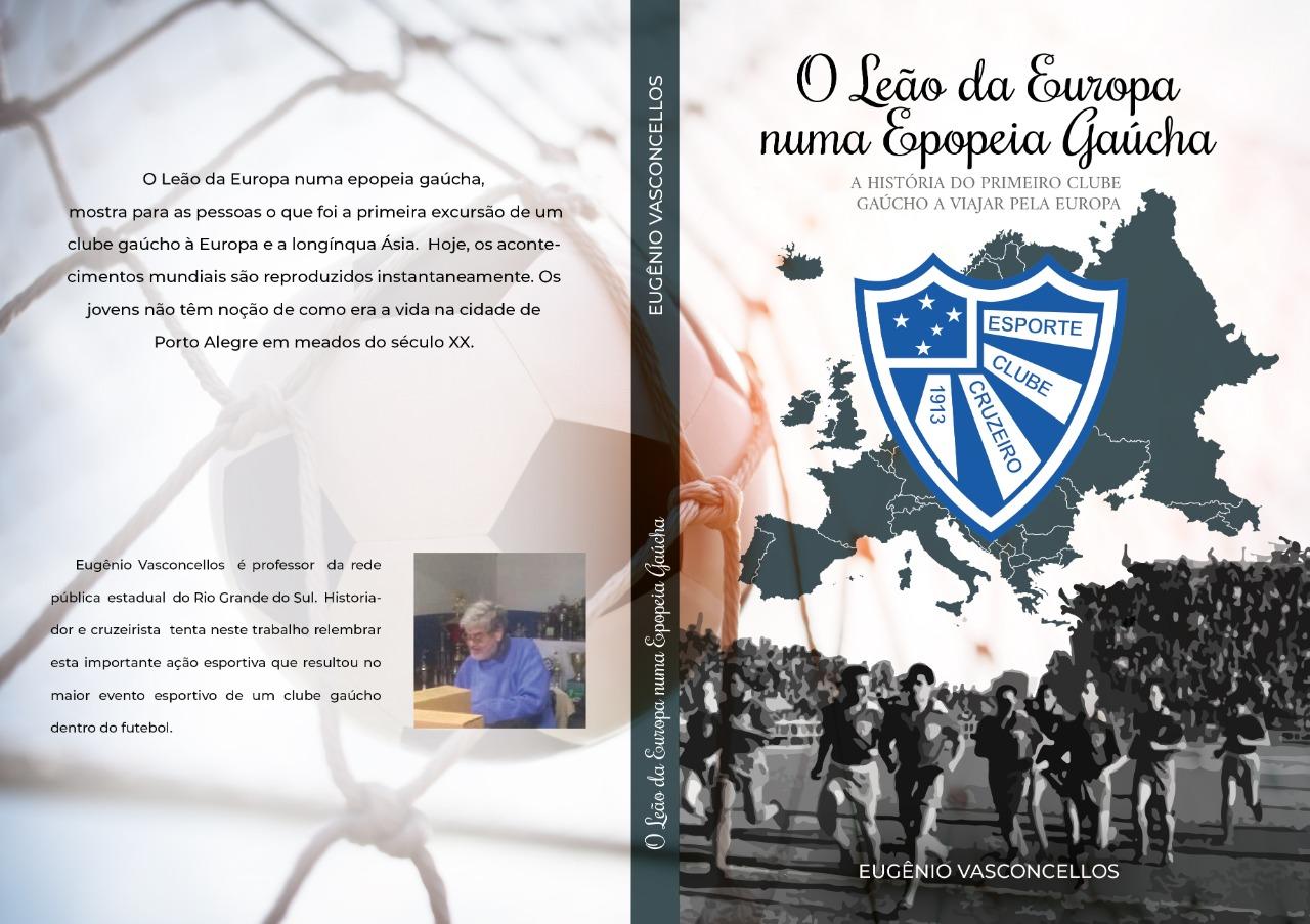 Cruzeiro lança livro sobre excursões do clube pela Europa