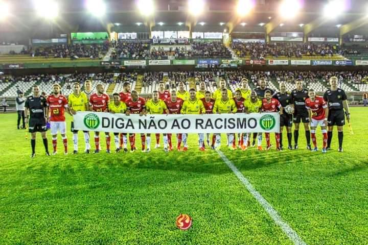 Ypiranga e São Luiz aderem campanha contra o racismo