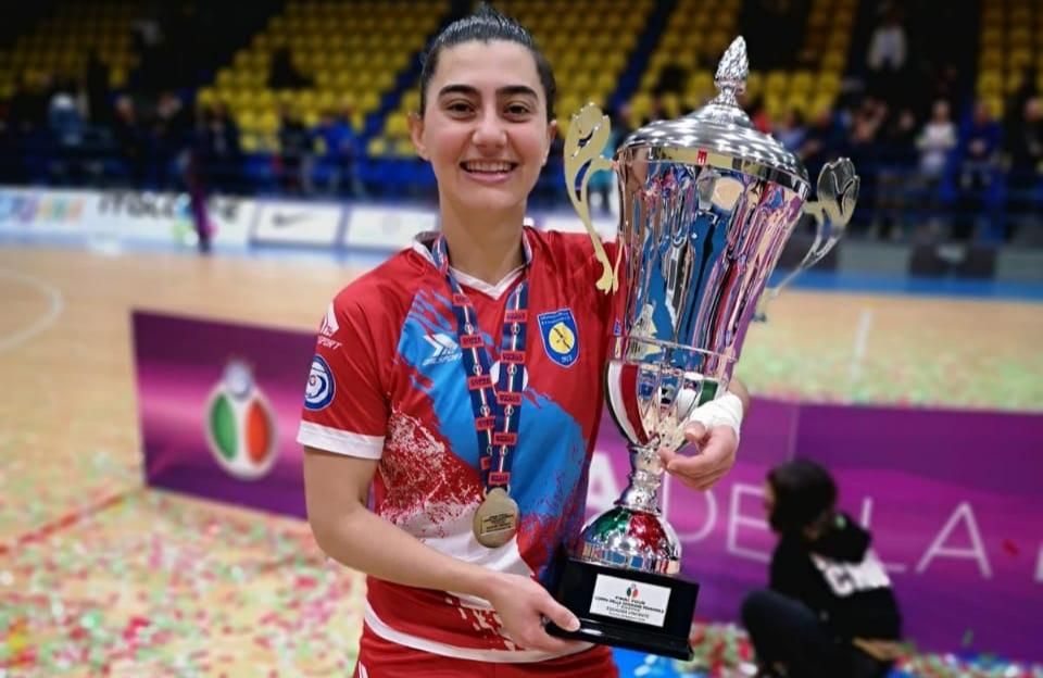 Atleta Santoangelense conquista título na Itália