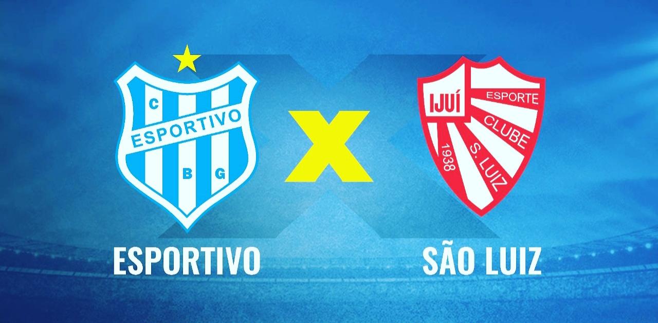 Esportivo x São Luiz: escalações e transmissão