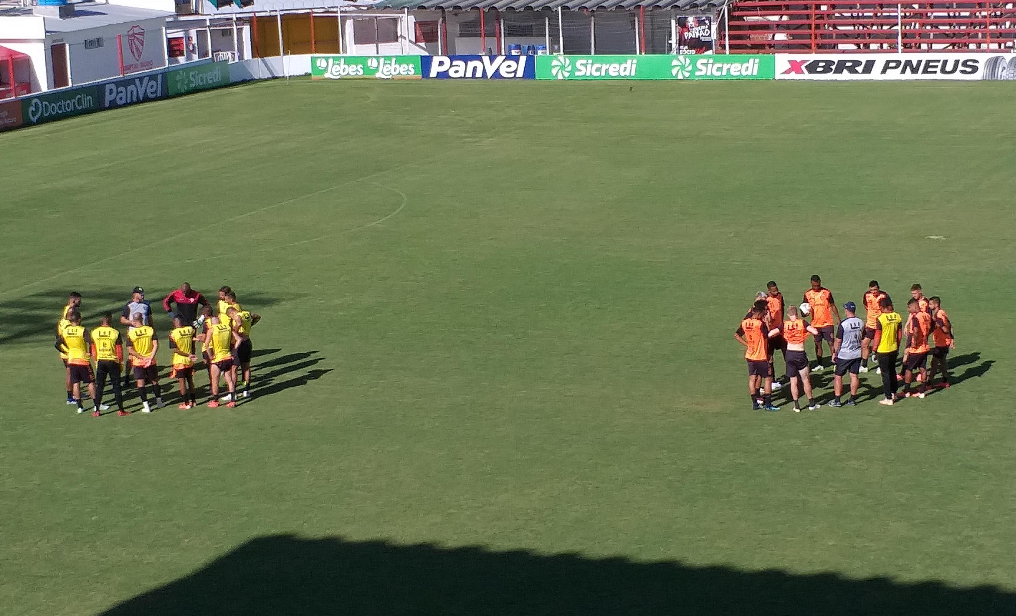 Com duas alterações, São Luiz está definido para estréia no segundo turno