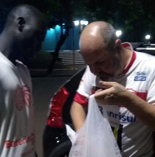 Torcida do São Luiz, Fanáticos da Geral, arrecada alimentos para doação