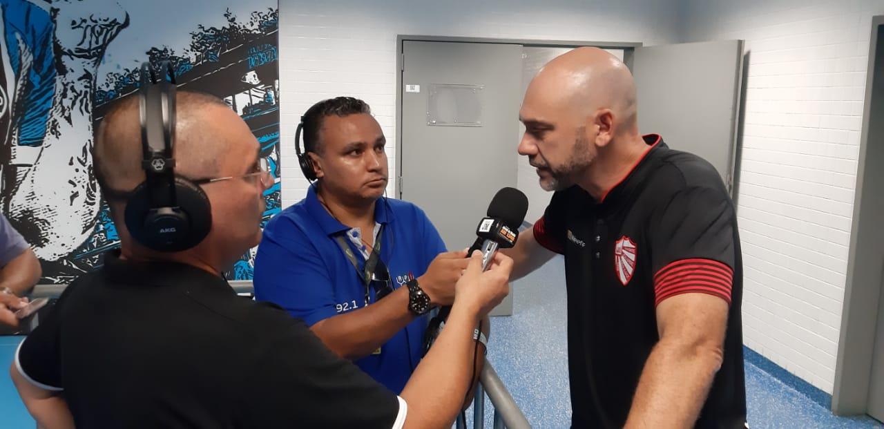 Técnico Antônio Picolli fala sobre renovação com o São Luiz