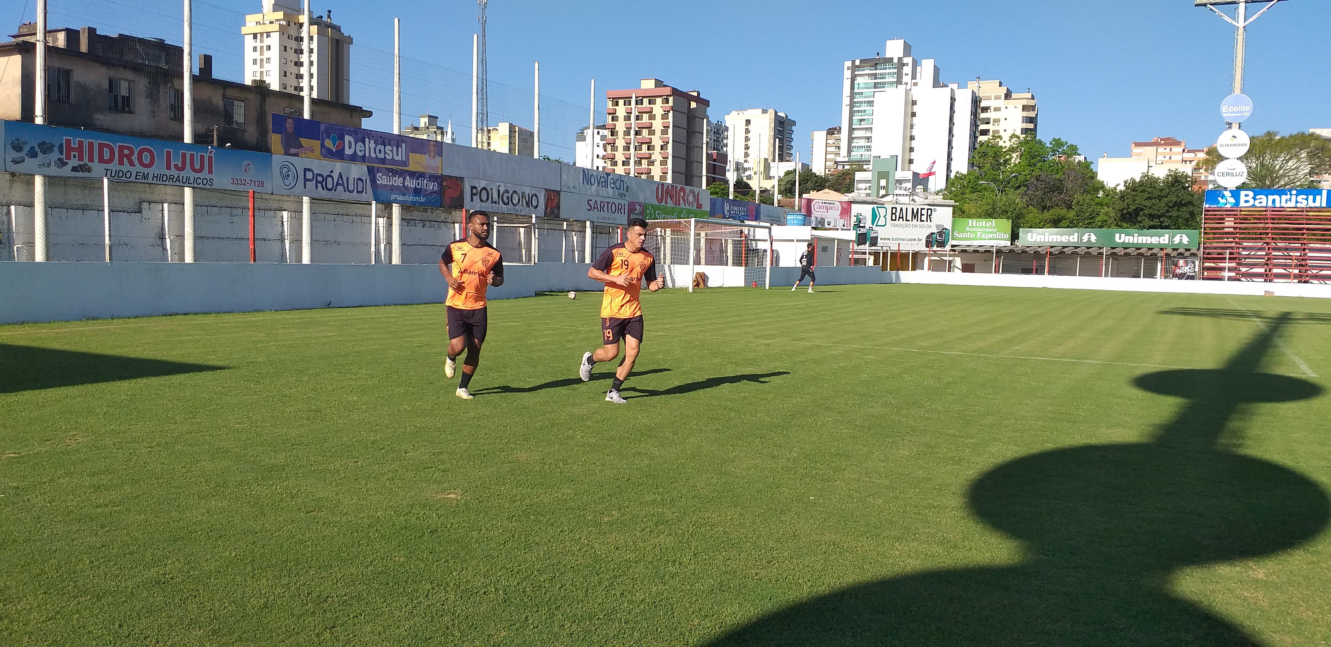 São Luiz começa preparação para o jogo diante do Pelotas na Boca do Lobo