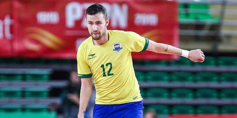 Felipe Paradynski fala sobre a convocação para a seleção brasileira de futsal