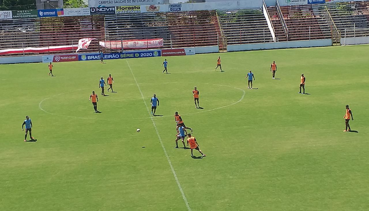 Picolli indica mudanças no São Luiz para o duelo contra o Pelotas