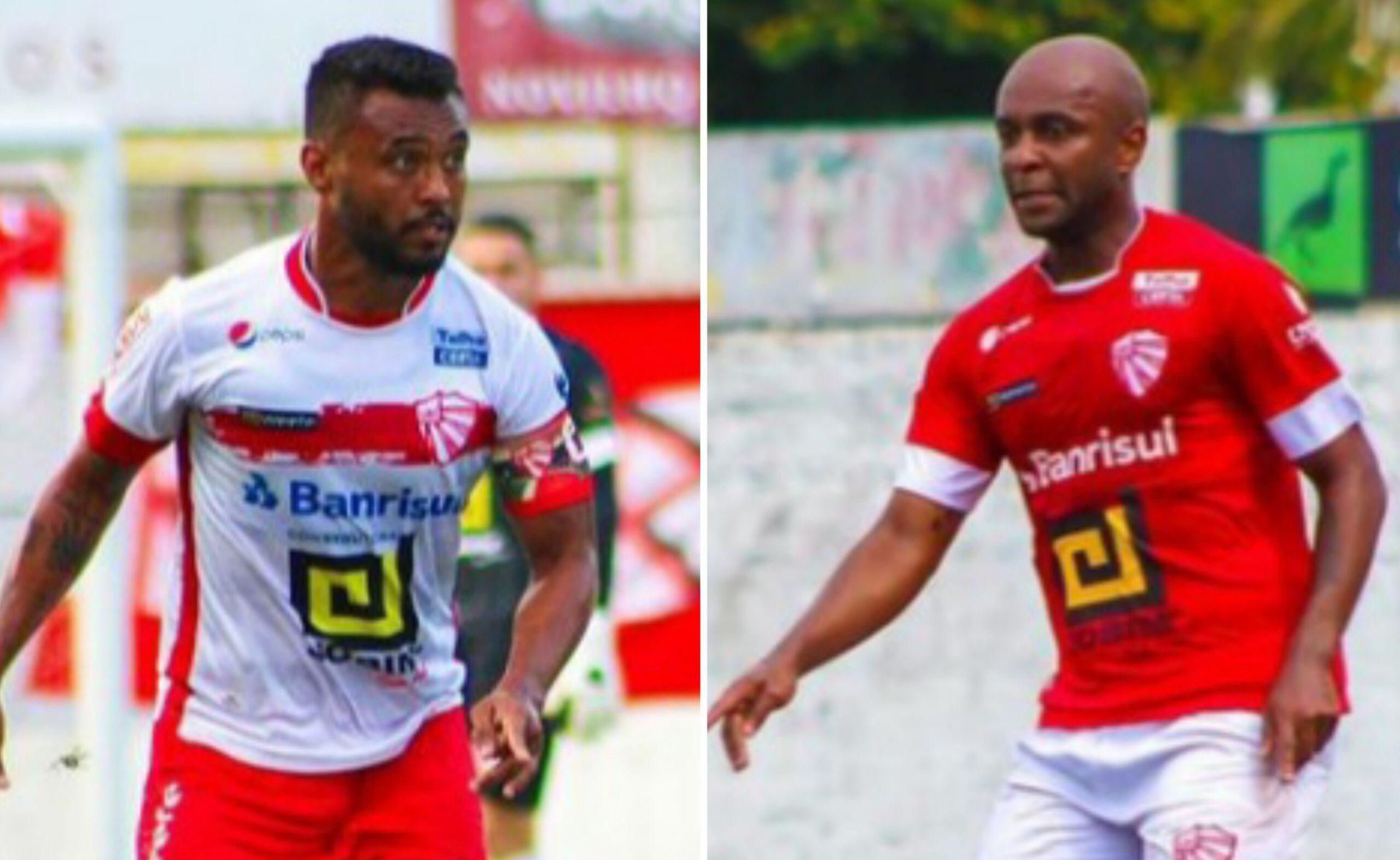 Rafael Jataí e Sílvio falam sobre as brincadeiras no vestiário do São Luiz