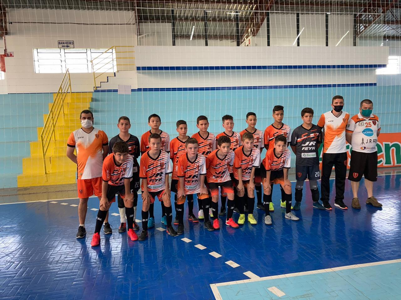 AAPF conquista vice-campeonato estadual da categoria sub-13