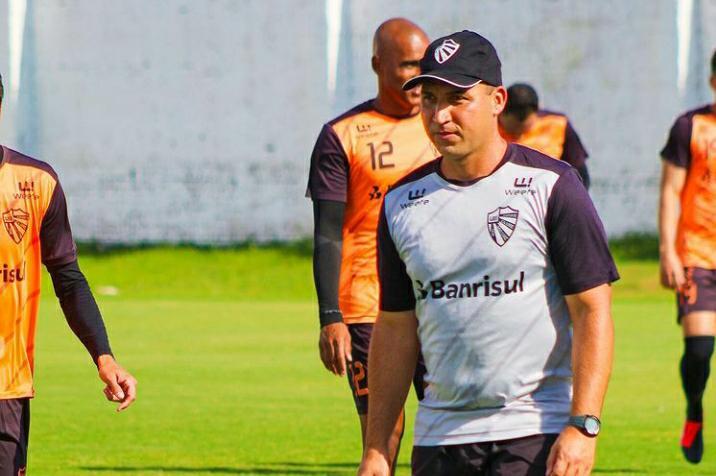 Auxiliar técnico Marcello Cupini fala sobre seu retorno ao São Luiz