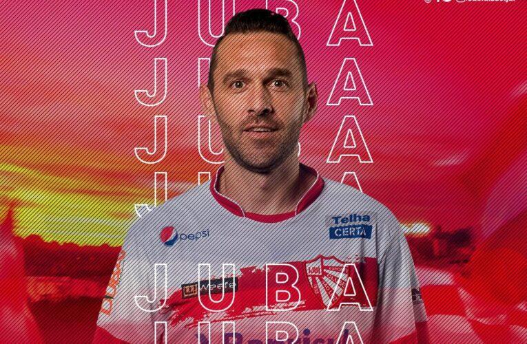 São Luiz confirma renovação com atacante Juba