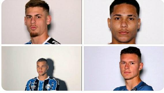 São Luiz confirma 4 atletas emprestados pelo Grêmio
