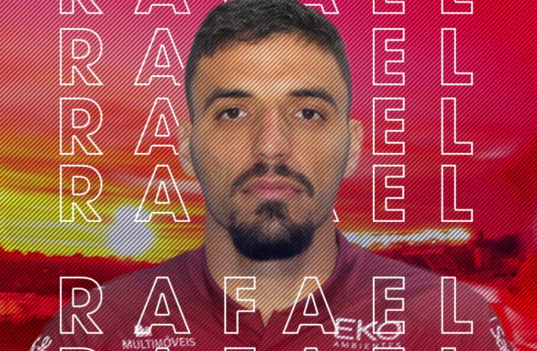 Zagueiro Rafael Goiano é o novo reforço do São Luiz