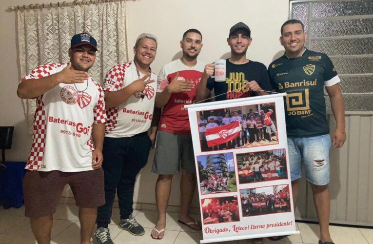 Torcedor símbolo vai acompanhar São Luiz longe de Ijuí