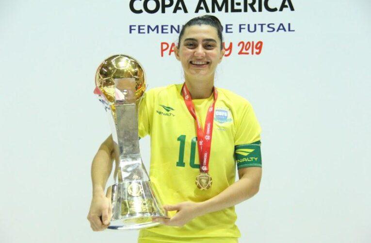 Atleta da região é convocada para a seleção brasileira de futsal