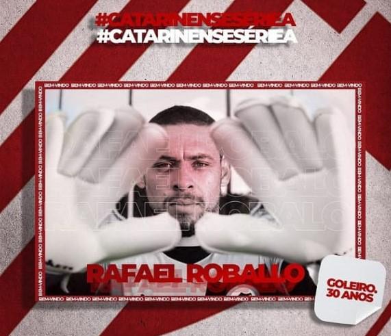 Rafael Roballo ex-São Luiz, vai disputar o campeonato catarinense