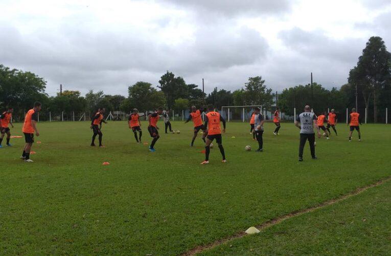 São Luiz realiza mais uma sessão de treinos
