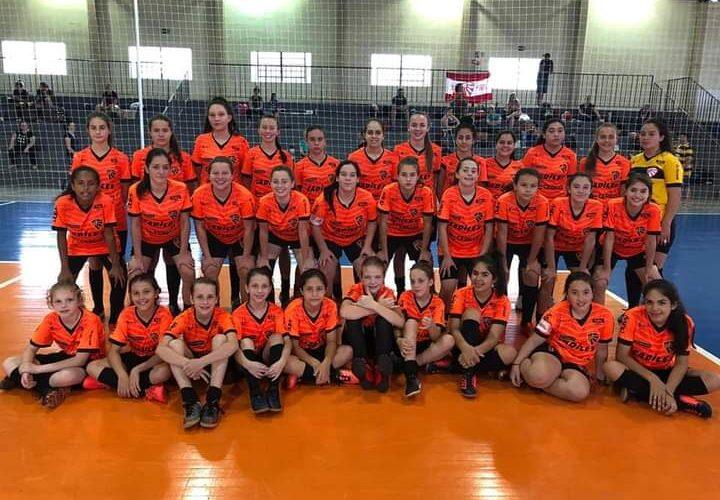 Escolinha Feminina do Esporte Clube São Luiz completa 11 anos de atividades