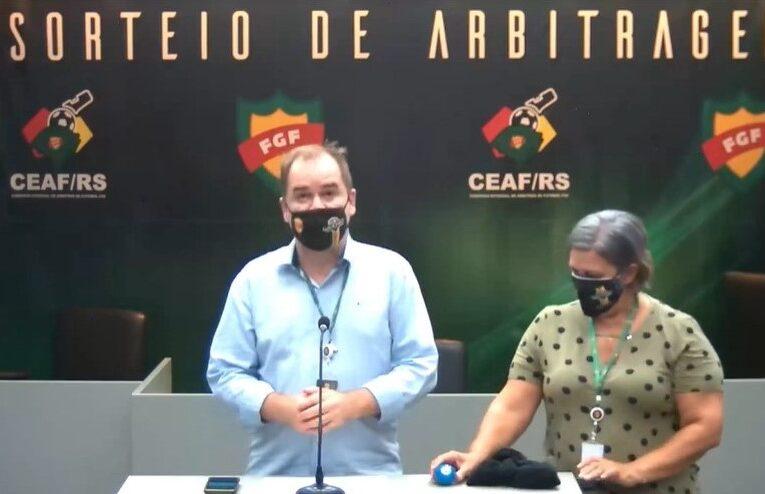 FGF confirma arbitragem para os jogos da 5ª rodada do campeonato gaúcho