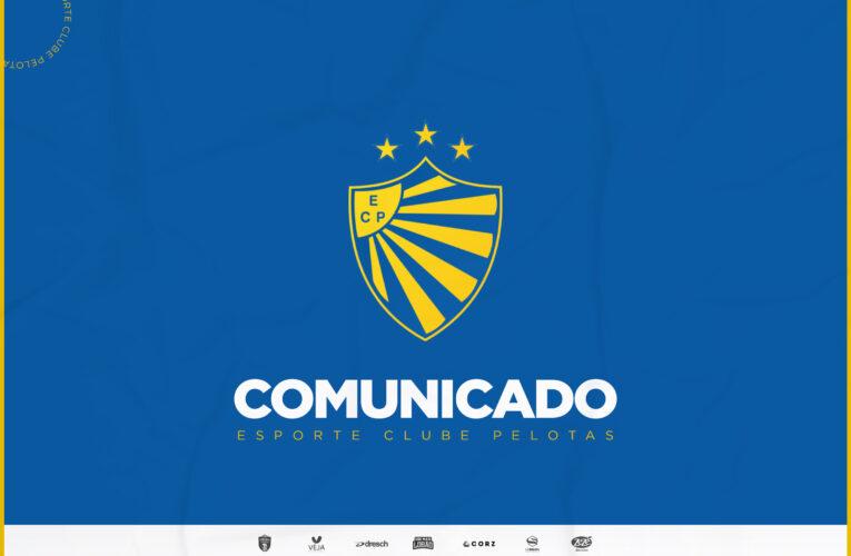 Ricardo Colbachini não é mais técnico do Pelotas