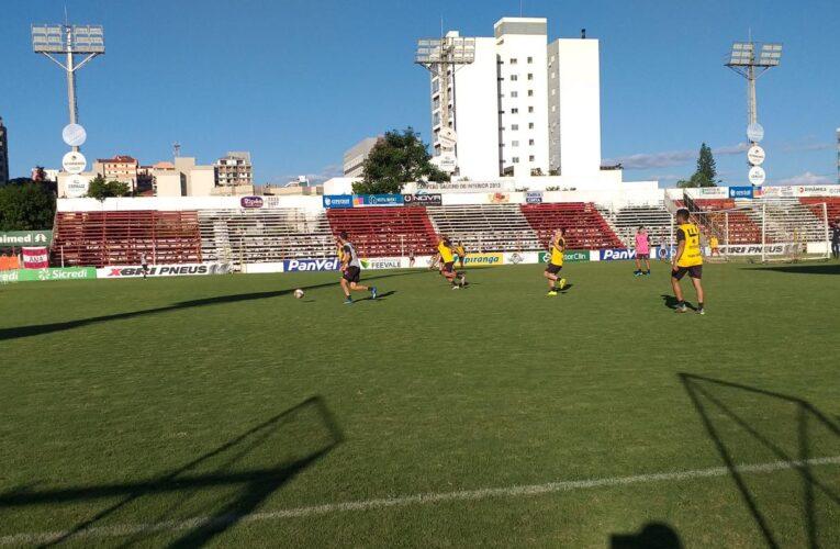 Vale vaga na Série D: São Luiz intensifica preparação para a decisão contra o Aimoré