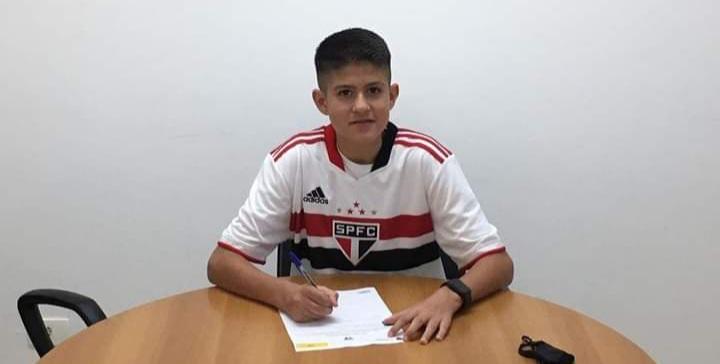 Atleta da região assina contrato com o São Paulo