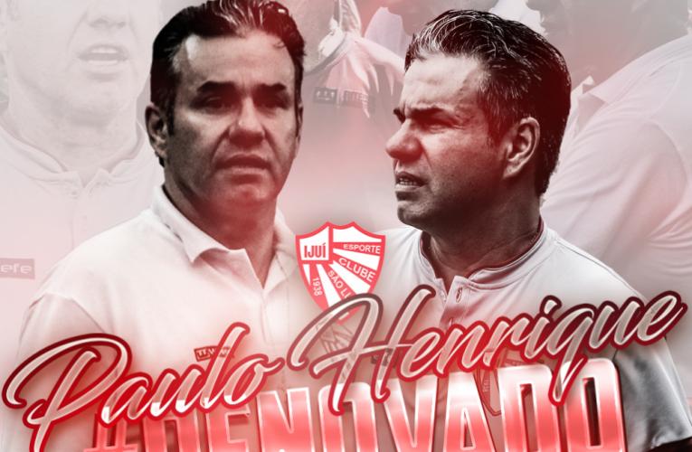 São Luiz renova com Paulo Henrique Marques para 2022