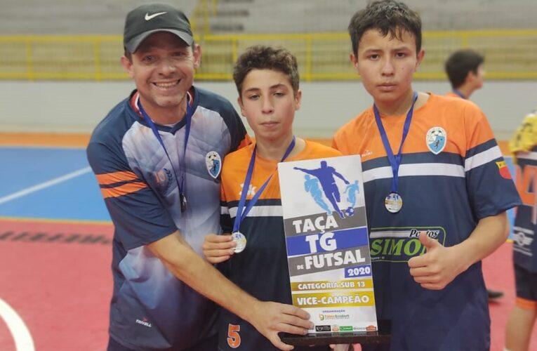 Atletas da região ficam com o vice campeonato da Taça TG de Futsal