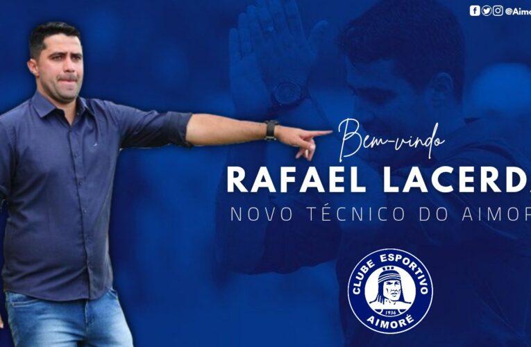 Rafael Lacerda é o novo técnico do Aimoré