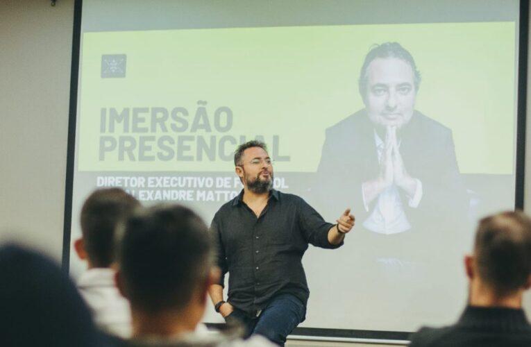 Diretor executivo do São Luiz participa de curso com Alexandre Mattos em São Paulo