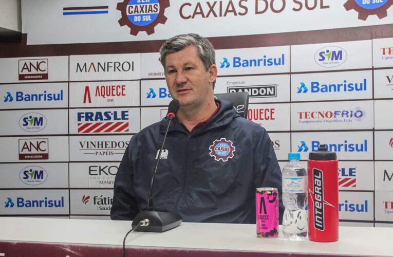 Ademir Bertoglio deixa gerência de futebol do Caxias